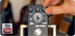 ZCAT Delay - Reverb video Nr.1