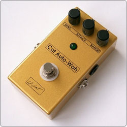 ZCAT This handmade boutique guitar Pedal is an envelope filter that produces an Auto-Wah effect that is interactive with the play dynamics.