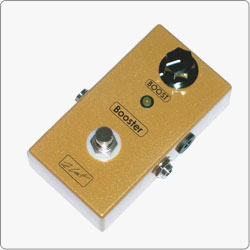 ZCAT It's a clean boost handmade boutique guitar pedal. It can boost the signal for solo or lower the signal and it can also be used for pushing the tube amp for some extra gain.