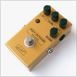ZCAT Poly-Octaver - Reverb is a Polyphonic Clean Octave Up and Down Generator and Reverb in one compact handmade boutique guitar effects pedal.