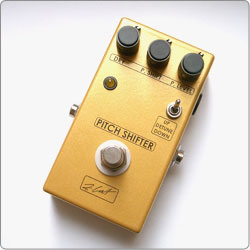ZCAT ZCAT Pitch Shifter features +12/-12 semitones clean pitch shifting and +1/-1 semitone detuning in a compact handmade boutique guitar effects pedal.