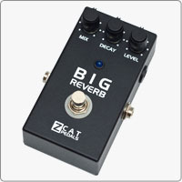 Z.Cat This is a reverb handmade guitar effects pedal that gives you a wide variety of sounds - from regular Hall to extremely large amtospheric and psychedelic Reverb. ></a><br>></a><br>