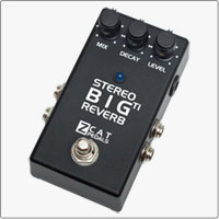 ZCAT The Stereo Big Reverb TI with Trails and nearly Infinite decay. The same great big reverb sound, but now in stereo.