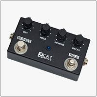 ZCAT Hold - Reverb guitar effects pedal is a digital multi-effects processor featuring high quality Reverb and unique Hold effect.