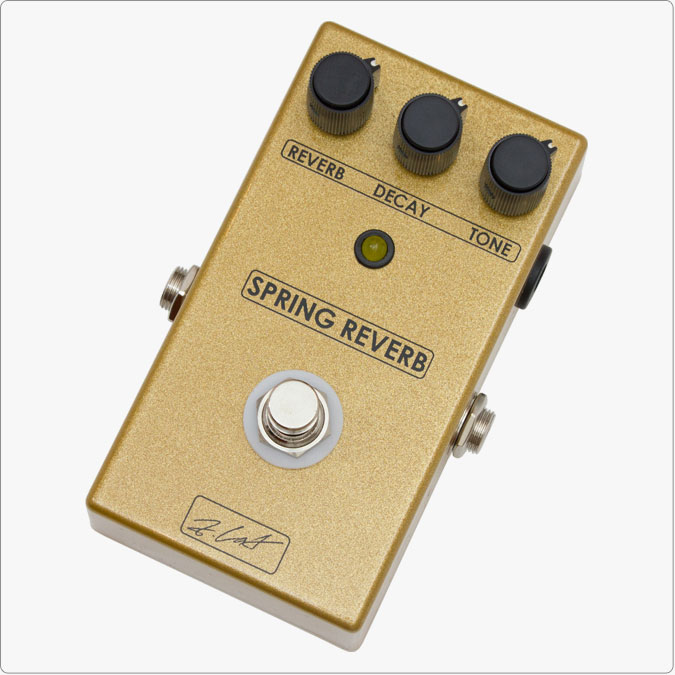 Z Cat Pedals Spring Reverb